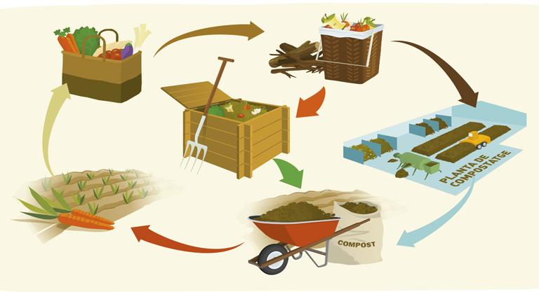El compostatge, guia d'activitats educatives
